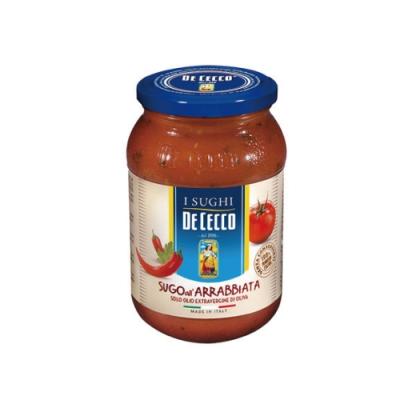 得科 DE CECCO 番茄香料辣味義大利麵醬 400g/罐