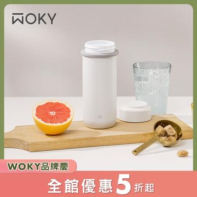 WOKY 沃廚 輕量隨行陶瓷保溫瓶260ML(含濾網)