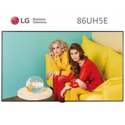 LG 樂金 86吋 4K超智慧商用顯示器86UH5E