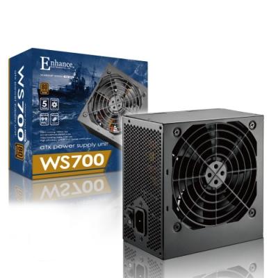 Enhance WS 700  700瓦 80Plus銅牌 電源供應器