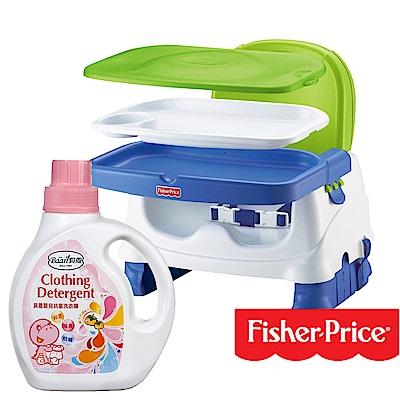 費雪寶寶小餐椅+貝恩Baan 嬰兒抗菌洗衣精/1000ml