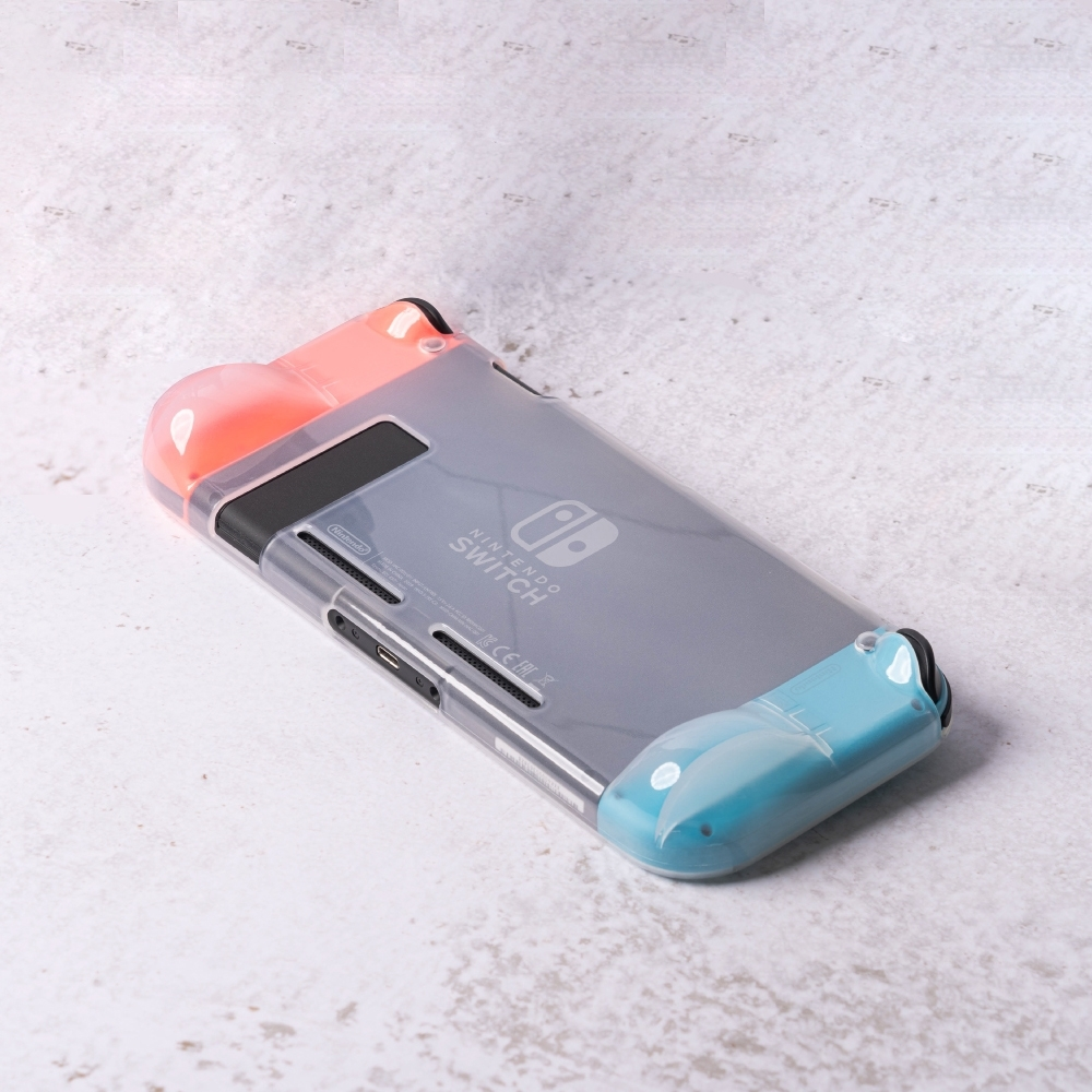 任天堂 Switch Lite 半透明保護殼 內磨砂材質 防摔TPU殼