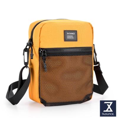 74盎司 MOBILE 網狀直立側背包[LG-899-MO-W]鵝黃