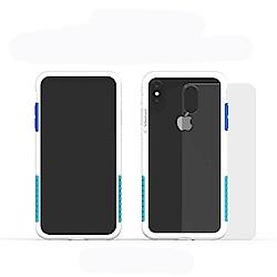 Telephant太樂芬 NMD iPhone XS MAX 白-配聖保羅(附背蓋)