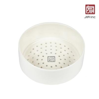 JIA Inc. 品家家品 饗食版蒸籠盤14cm-白色