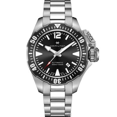 Hamilton卡其海軍系列蛙人機械錶(H77605135)