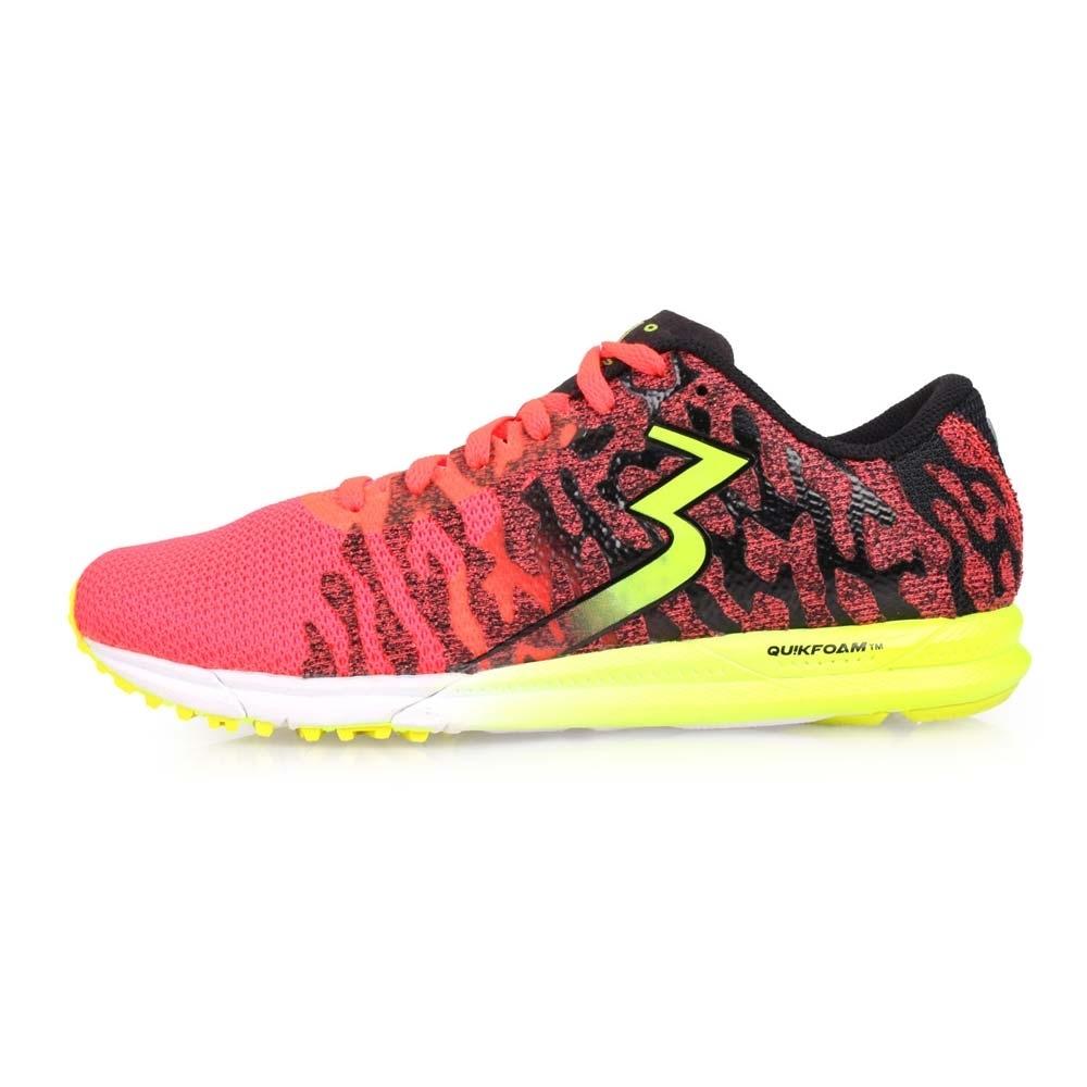 361度 361° 女慢跑鞋-路跑 橘紅綠