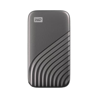 WD My Passport SSD 500GB(太空灰)外接SSD(2020)