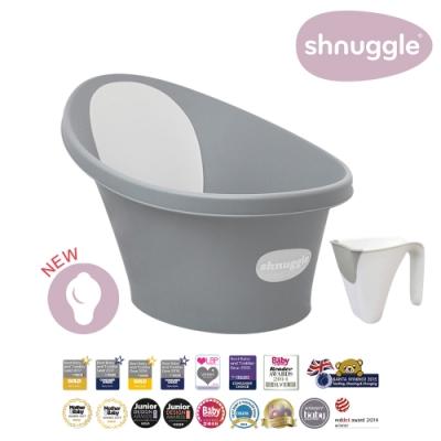 【英國Shnuggle】月亮澡盆-皇家限定款(嬰兒浴盆)+小小水瓢