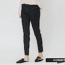 H:CONNECT 韓國品牌 女裝-水洗感緊身牛仔褲-深藍