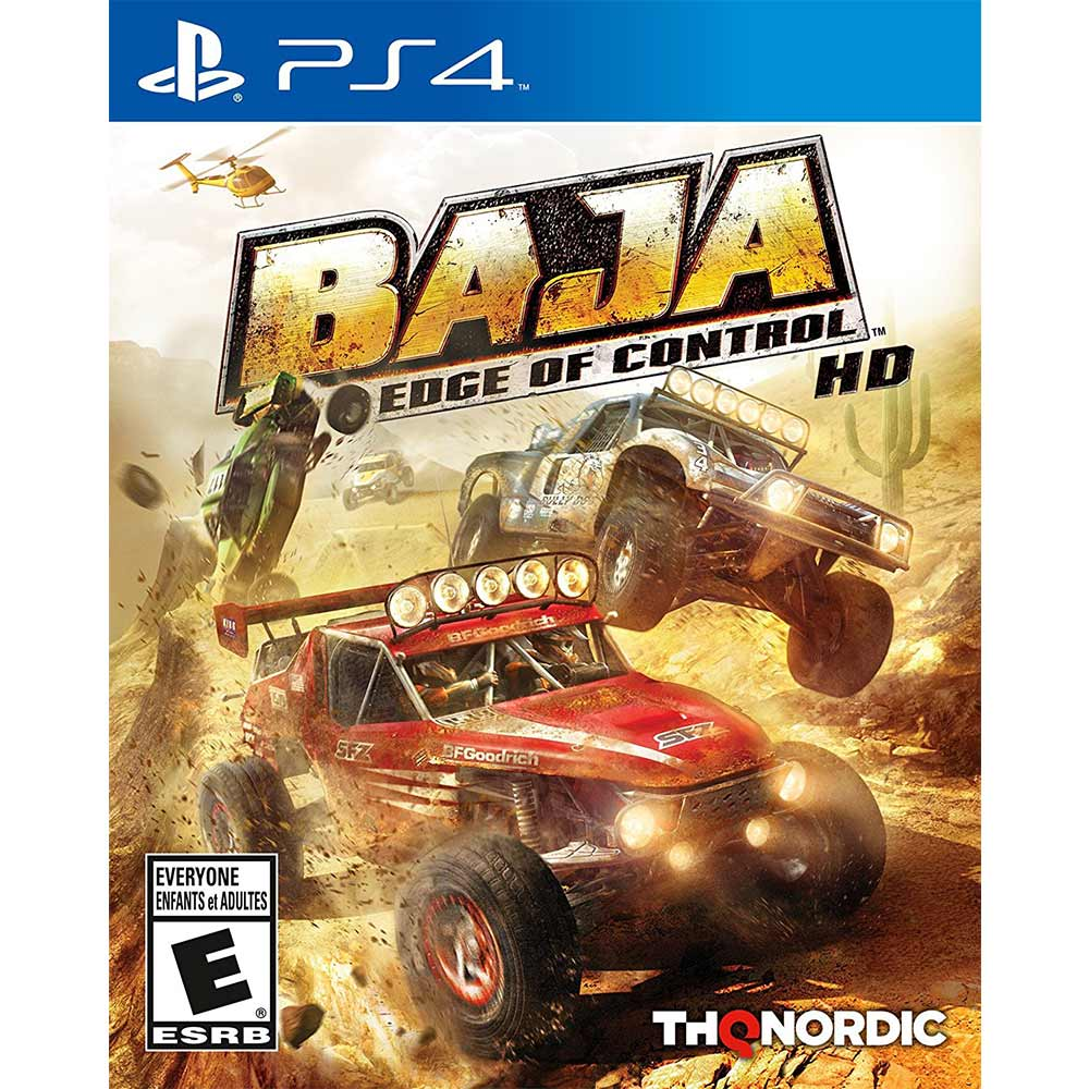 BAJA 極限長征 HD EDGE OF CONTROL HD-PS4英文美版