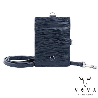 VOVA - 大藝術家系列2卡兩用證件夾 - 奇幻藍