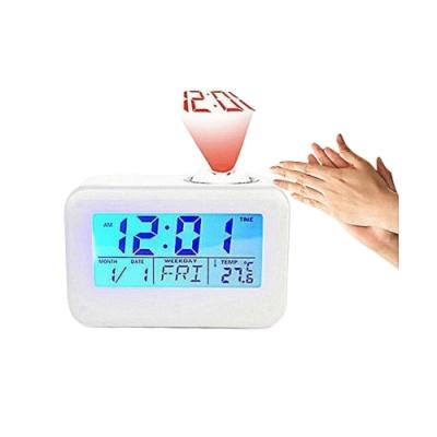 【LOTUS】創意投影鬧鐘 時鐘 含背光功能
