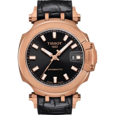 TISSOT 天梭 T-RACE SWISSMATIC 機械錶-45mm T1154073705100