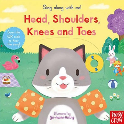 Sing Along With Me! Head,Shoulders,Knees And Toes 兒歌歡唱操作書(英國版)