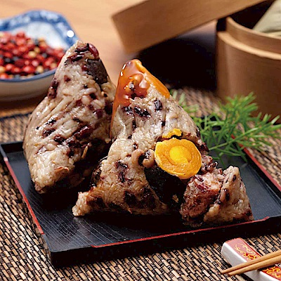 小川漁屋 五穀養生大肉粽5顆(250g/顆)