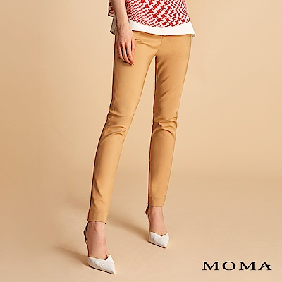 MOMA 合身錦棉長褲