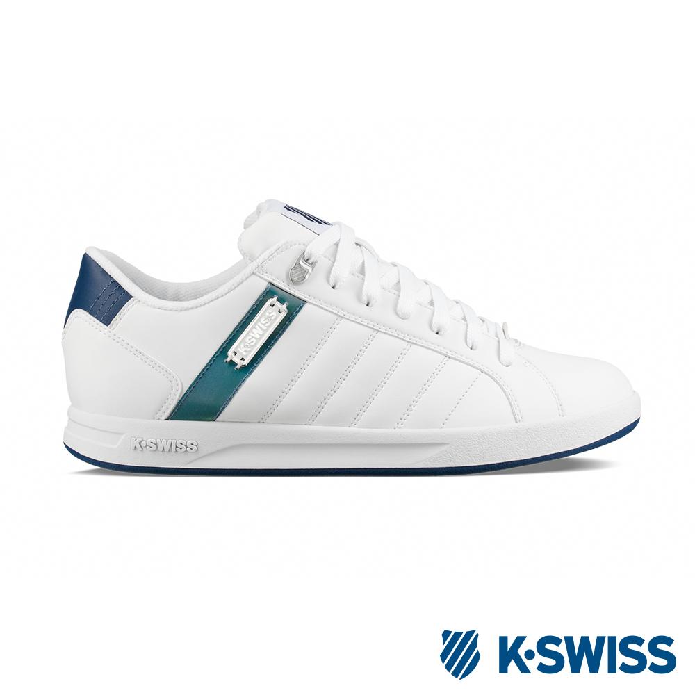 K-SWISS Lundahl WT S休閒運動鞋-男-白/藍