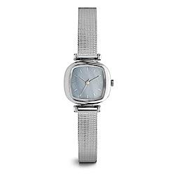KOMONO Moneypenny Royale 腕錶-太空銀x藍/24mm