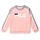 FILA KIDS 童針織上衣-粉紅 1TES-8404-PK