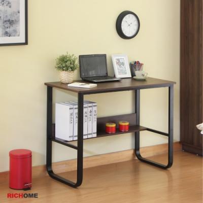 【RICHOME】華特工作書桌(2色)100x50x73