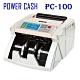 POWER CASH 頂級商務型液晶數位台幣防偽點/驗鈔機 PC-100 product thumbnail 1
