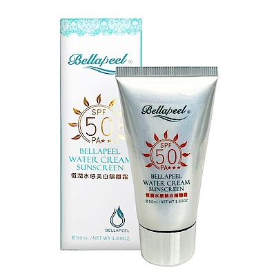 bellapeel蓓拉佩爾恒潤水感美白隔離霜SPF50PA+++50ml