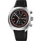ORIS豪利時 CHRONORIS 限量賽車計時機械錶-黑/40mm