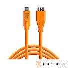 Tether Tools CUC3315-ORG Pro傳輸線USB-C 轉