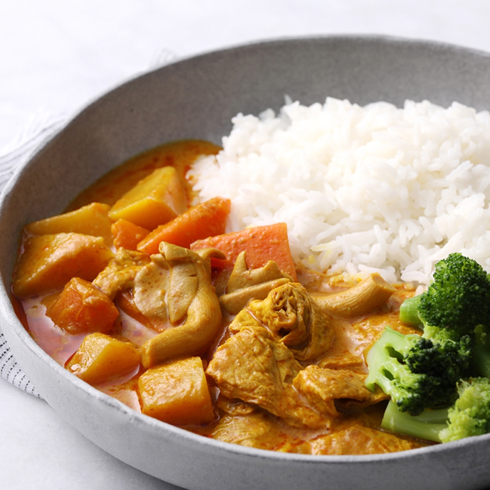 花蓮家咖哩 養生鮮蔬咖哩(全素)常溫料理包2入/盒(共520g)