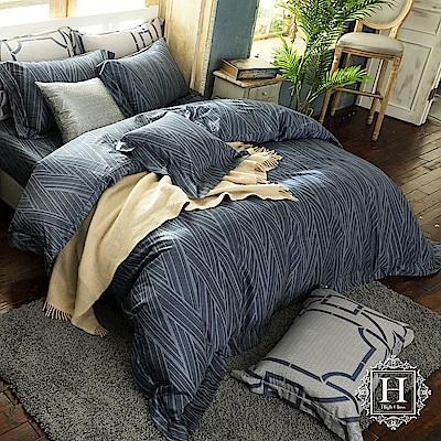 HOYA H Series艾菲爾 雙人四件式頂級500織匹馬棉被套床包組