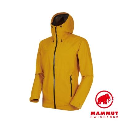 【Mammut 長毛象】Convey GTX 連帽外套 金黃 男款#1010-26032