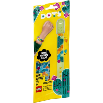 樂高LEGO DOTS系列 - LT41922 豆豆手環 酷炫仙人掌