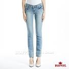 BRAPPERS 女款 新美腳Royal系列-彈性針織窄管褲-淺藍