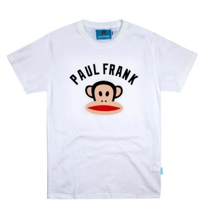 paul frank 初衷字母猴頭純棉T-白(男版)