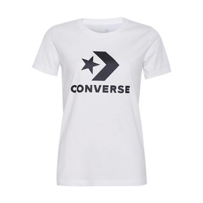 CONVERSE 女短袖上衣 白-10009152-A01