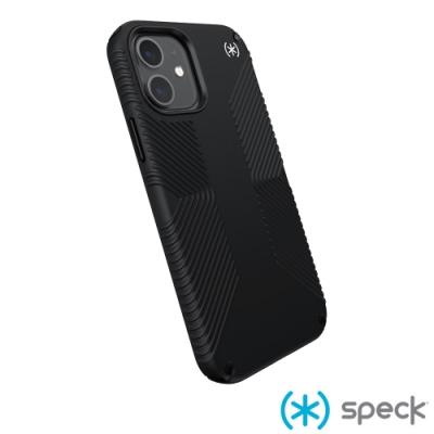 Speck Presidio2 Grip iPhone 12/12 Pro 抗菌防手滑防摔殼-黑色