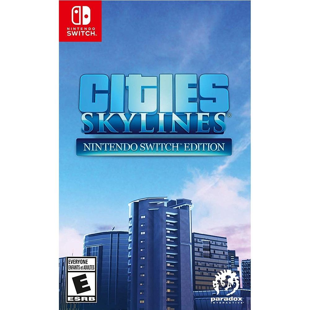 大都會:天際  Cities: Skylines - NS Switch 中英日文美版