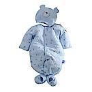 三層棉極暖帽衣腳三件套兔衣組 b0114 魔法Baby