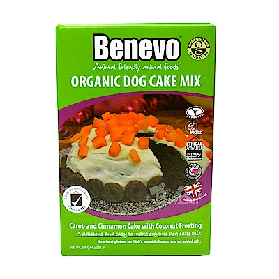 Benevo 倍樂福 - 英國素食動手做狗狗有機蛋糕140g