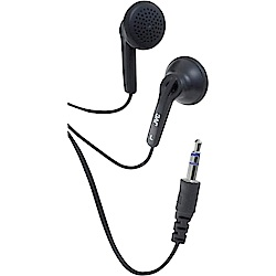 JVC 附捲線盒耳塞式耳機HA-F10C(兩入裝)