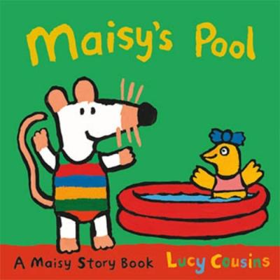 Maisy s Pool 波波的游泳池故事小書