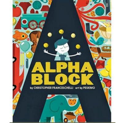Alpha Block 字母造型硬頁書