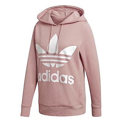 adidas 帽T Originals Trefoil 女款