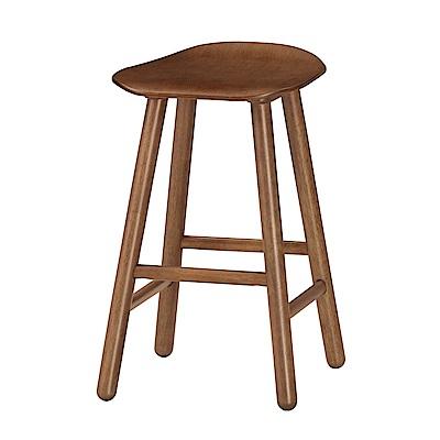 Boden-諾文實木吧台椅/高腳椅/單椅(三色可選)-二入-40x39x64cm