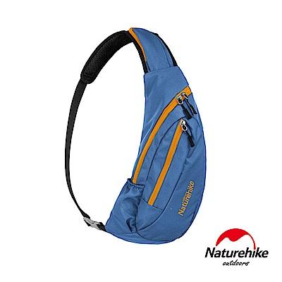 Naturehike 6L多功能防水單肩斜背包 胸前包 藍色-急