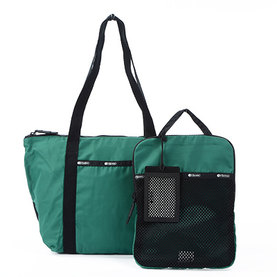 Lesportsac 旅行手提包 綠