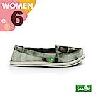 SANUK 女款US6 暈染娃娃鞋(綠色)