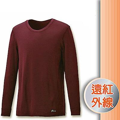 FIT 男 遠紅外線圓領保暖內衣_FW1501 巧克力 V