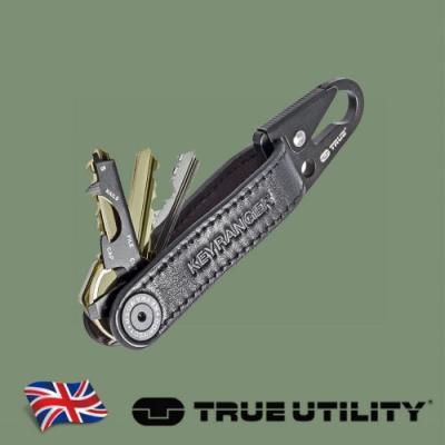 【TRUE UTILITY】英國多功能皮革鑰匙圈工具扣環Keyranger